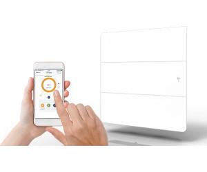 Applimo Lena Smart Ecocontrol Vertical 1500 W Blanc Au