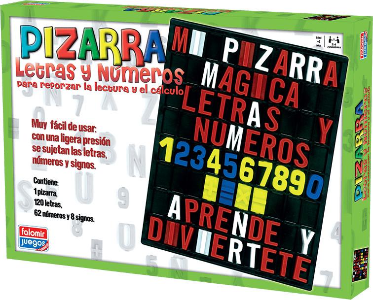 Falomir Pizarra letras y números