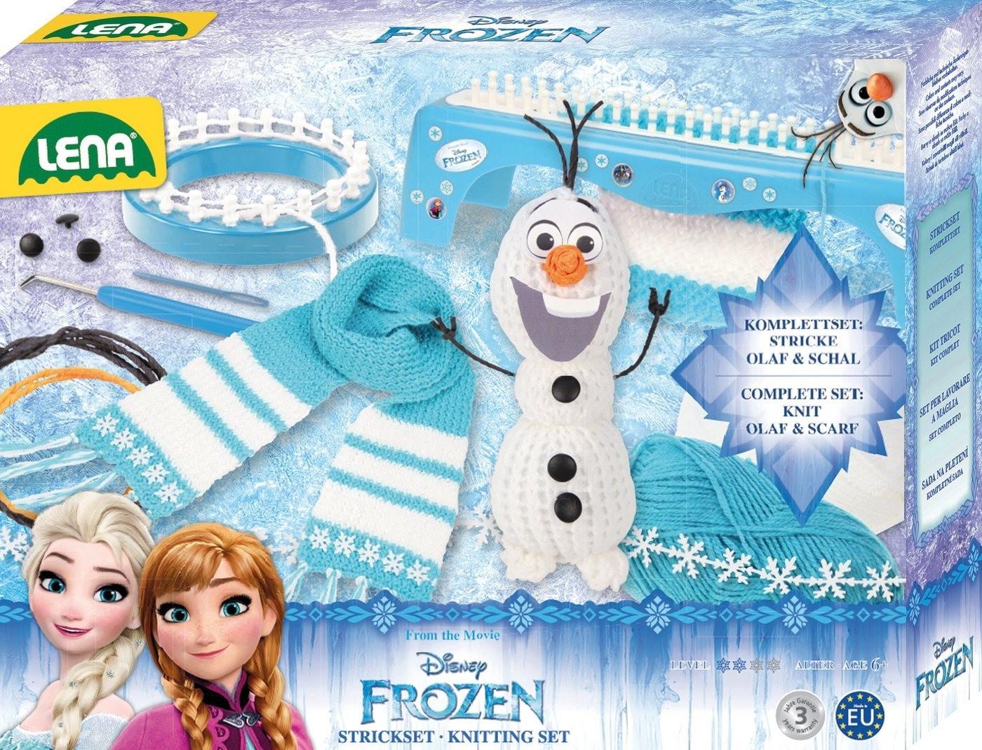 Lena Disney Strickset Frozen