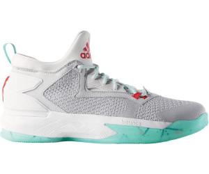 separation shoes 4ed3c 3ca34 Adidas D Lillard 2 PK light solid greyrayon redice green