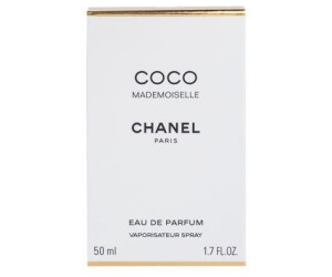 chanel coco mademoiselle eau de parfum 50 ml au meilleur prix sur. Black Bedroom Furniture Sets. Home Design Ideas