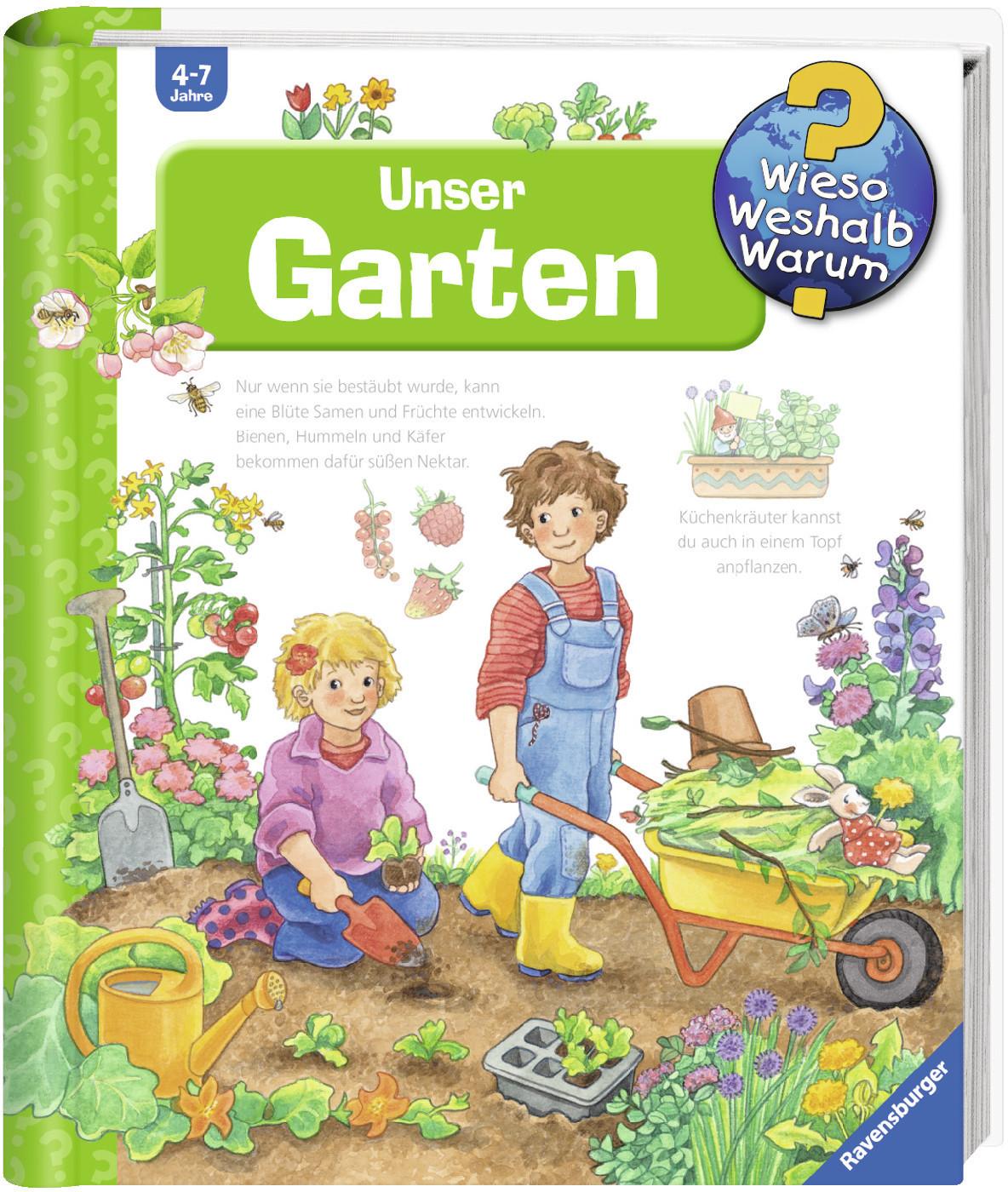 #Wieso? Weshalb? Warum? – Unser Garten Bd.43 (Eberhard, Irmgard / Erne, Andrea) [Spiralbindung]#