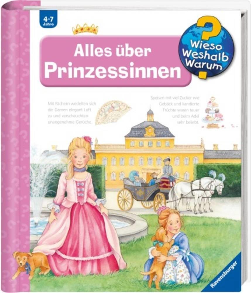 #Wieso? Weshalb? Warum? – Alles über Prinzessinnen (Erne, Andrea) [Spiralbindung]#