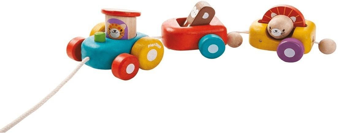 Plan Toys Lustiger Zug