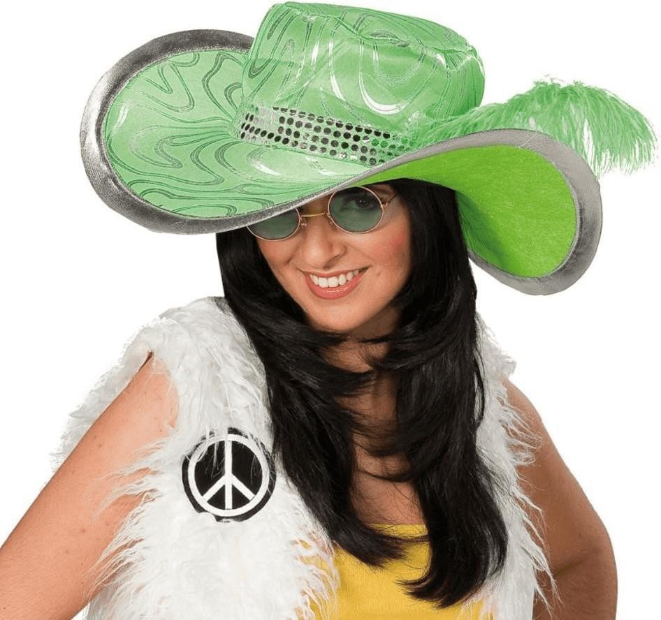Rubie´s Damenhut Hippie grün (580081)