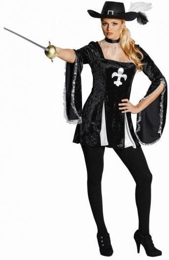 Rubie´s Lady Musketier Gr. 40 (13849)