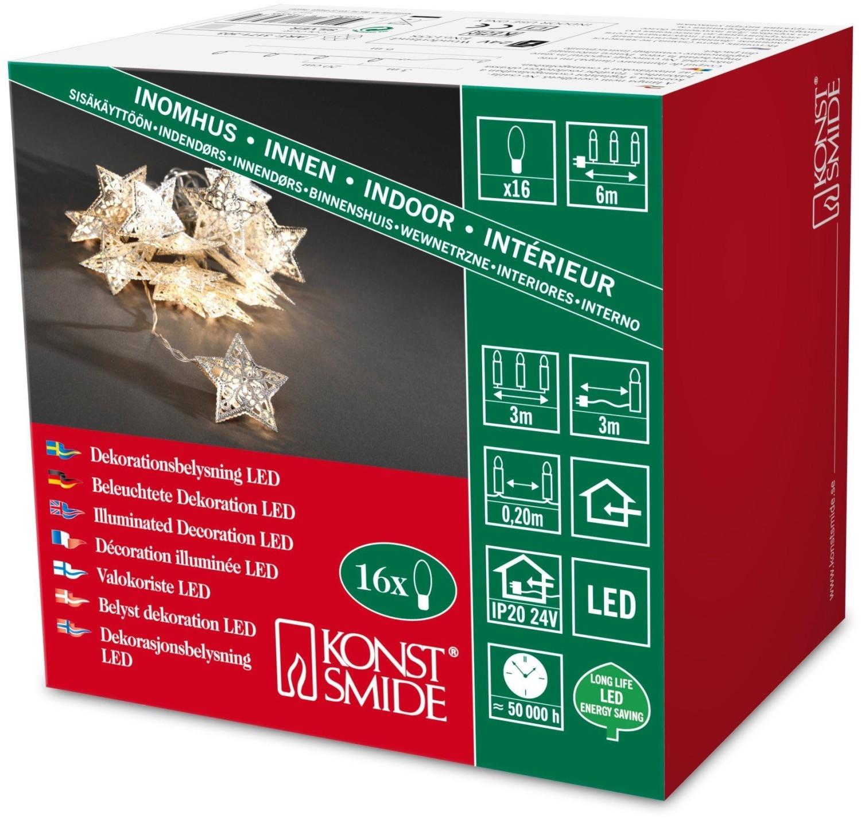 Konstsmide LED Dekokette (3171) silber