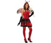 FM Damen Kostüm Marienkäfer Karneval Fasching