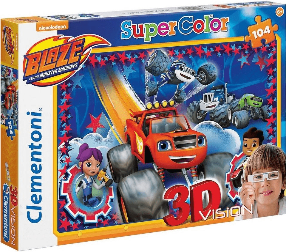 Clementoni Blaze and the Monster Machines (104 ...