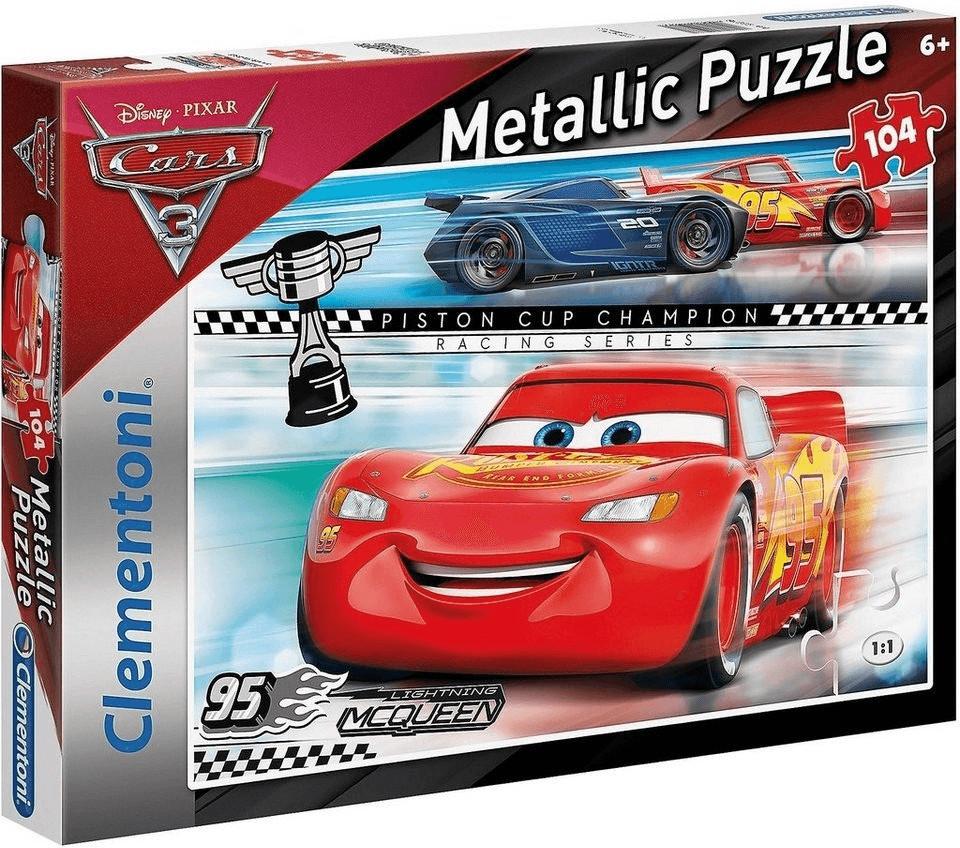 Clementoni Cars 3 Metallic (104 Teile)