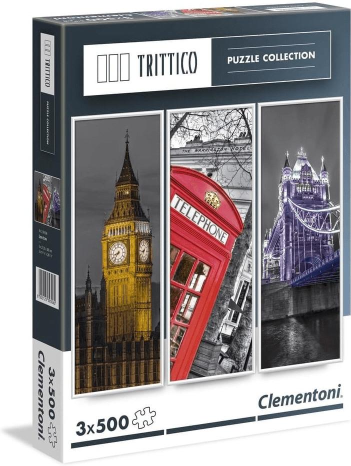 CLEM.  PUZZLE 3X500 PZAS.  LONDRES