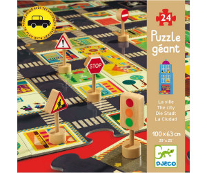 Djeco Riesenpuzzle: The city