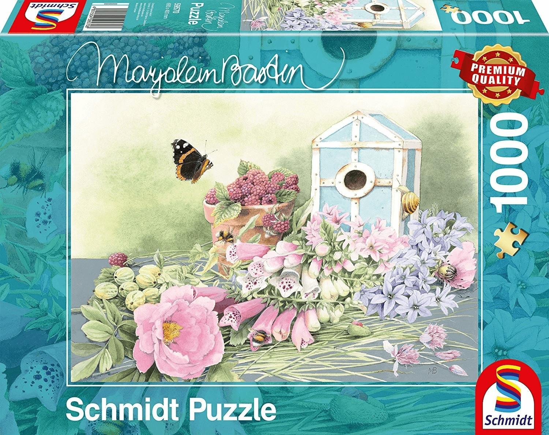 Landhausstil und Rosen Puzzle 1000 Teile Schmidt Spiele Spiel Deutsch 2017 Puzzles