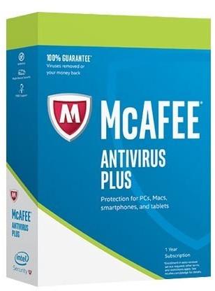 Image of McAfee AntiVirus Plus 2018 (1 Device) (1 Year)