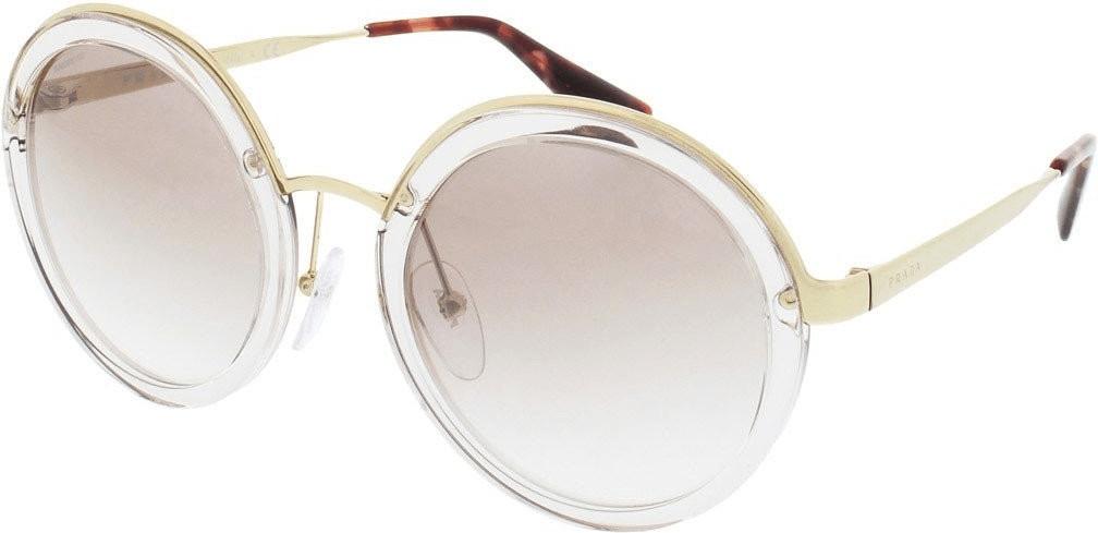 Prada PR50TS VYT4O0 (transparent brown/gradient brown mirror silver)