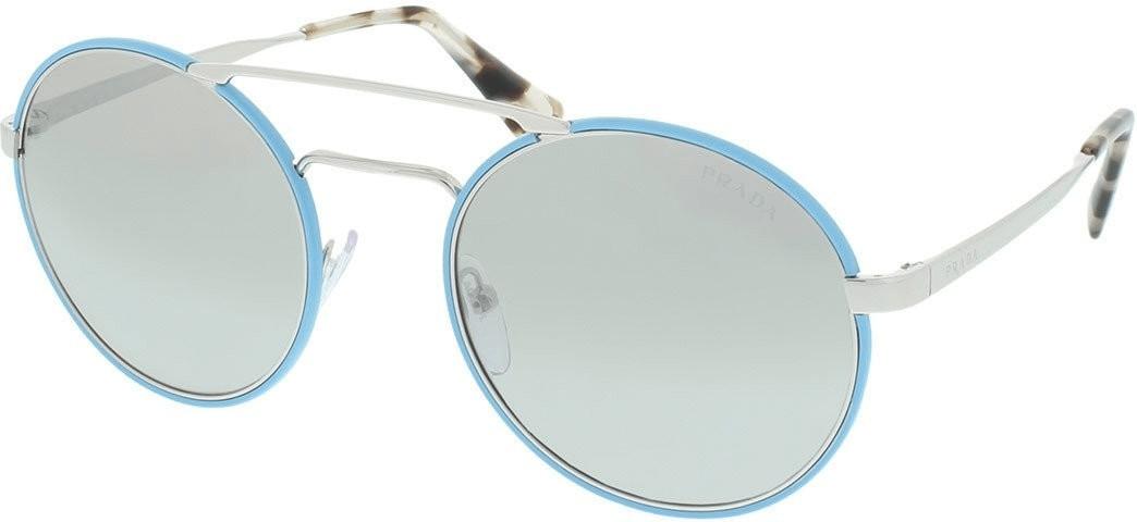 Prada PR51SS VHT1A0 (silver-azure/light grey mirror gradient silver)