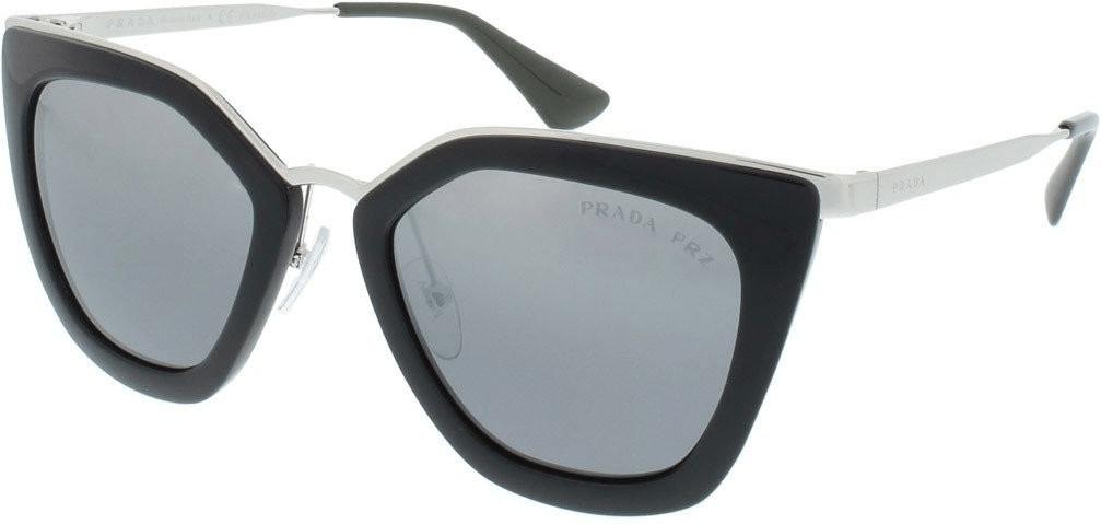 Prada PR53SS 1AB6R2 (black/polar grey mirror gradient silver)