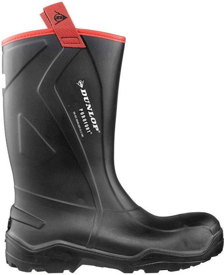 Dunlop Purofort+ Rugged full safety black/red