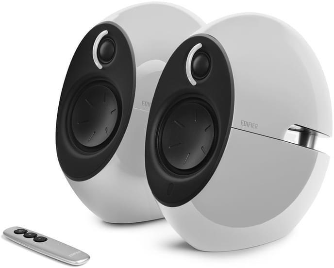Edifier E25HD WHITE Aktivboxen Luna HD 2.0 Bluetooth weiß - Speaker - 20 KHz 2x
