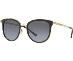 1319a274f20 Michael Kors Mk1010 Adrianna Oval Sunglasses Black