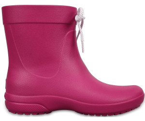 Crocs Women S Freesail Shorty Rain Boots Pink Ab 20 23