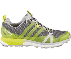 adidas Agravic GTX Mountain Running Schuhe Damen, carbongrey threeash green,Größen: 38 2/3, 38, 39 1/3, 40 2/3, 41 1/3, 42