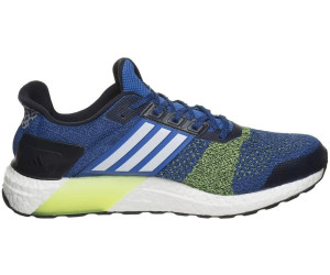 9619dd55d Buy Adidas Ultra Boost ST blue ftwr white solar yellow from £113.32 ...