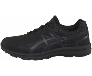 Asics Womens Gel-Mission Walking Shoes Black Sports Outdoors Breathable Trainers