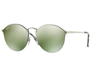 61a3827820a6 Ray-Ban Blaze Round RB3574N 003 30 (silver green-silver mirror) ab ...