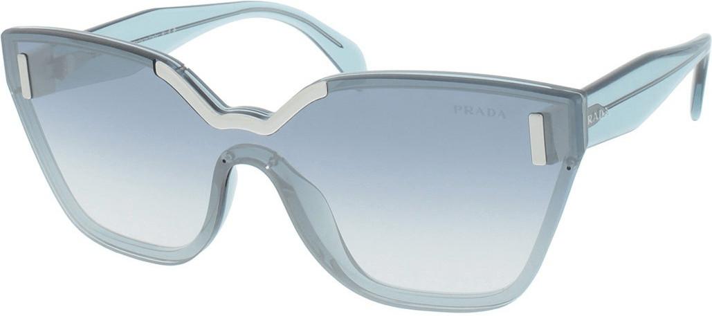 Prada PR16TS VIS5R0 (light azure/gradient light blue mirror silver)