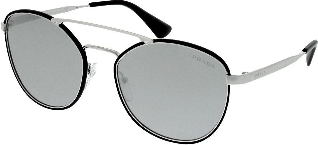 Prada PR63TS 1AB2B0 (black/light grey mirror silver)