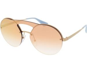 PRADA Prada Damen Sonnenbrille » PR 65TS«, goldfarben, 7OEAD2 - gold/rosa