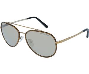 Michael Kors Sonnenbrille Mk1019, UV 400, braun/schwarz