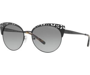 Michael Kors Damen Sonnenbrille Evy 106368, Satin Silver-Tone/Brownpurplegradient, 56