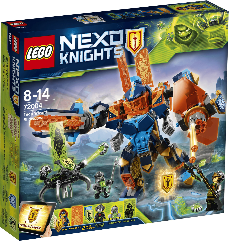 LEGO Nexo Knights - Clays Tech-Mech (72004)