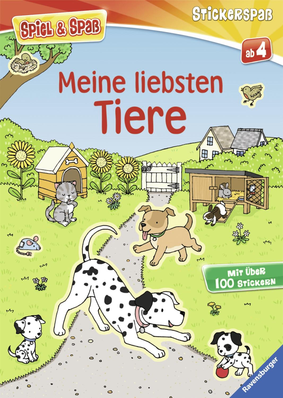 Ravensburger Stickerspaß Meine liebsten Tiere (...