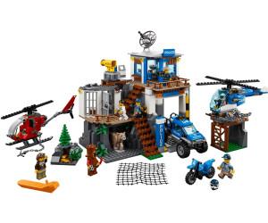 ab 6 Jahre 663 Teile LEGO® City 60174 Hauptquartier der Bergpolizei
