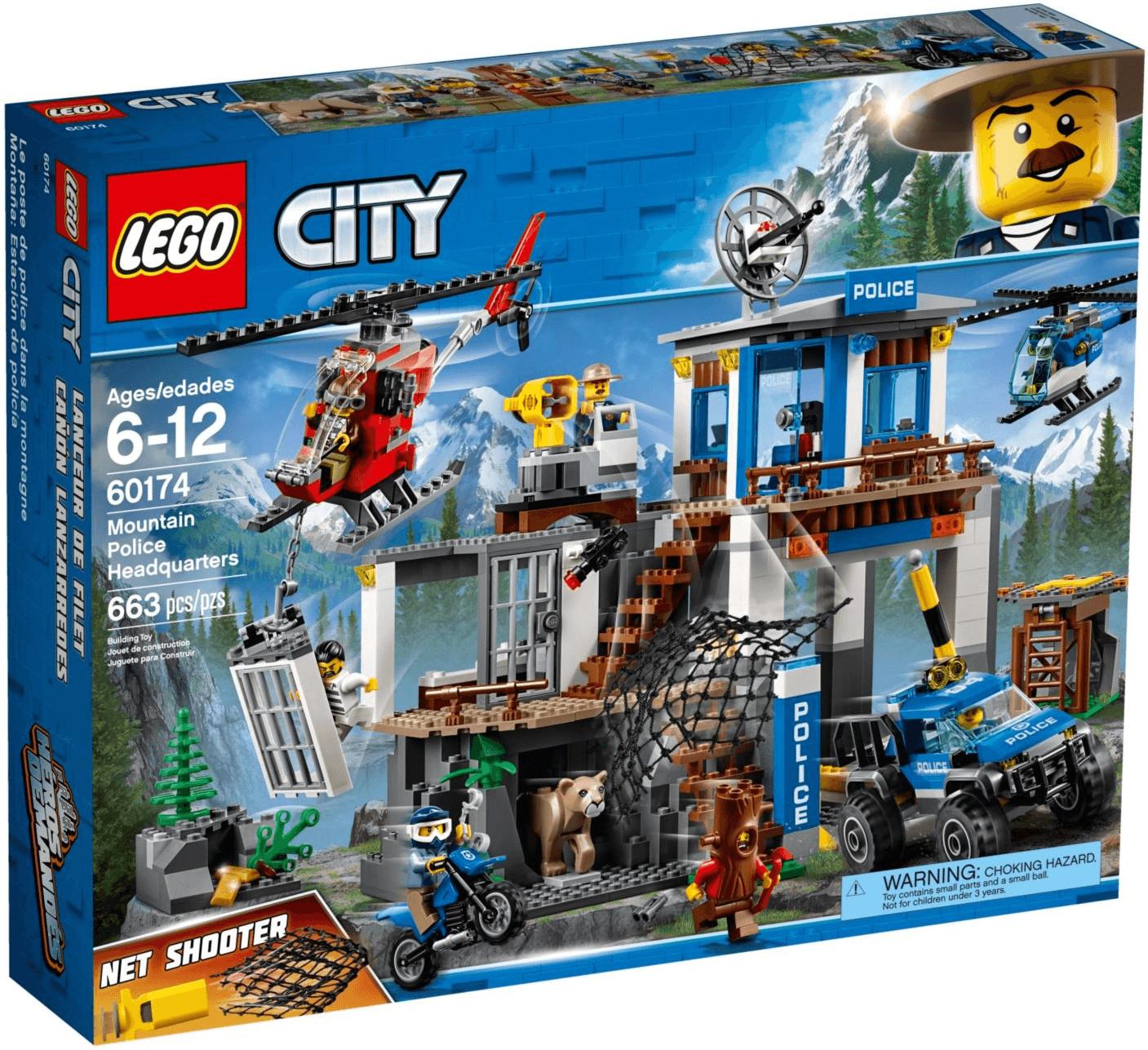 LEGO City - Hauptquartier der Bergpolizei (60174)