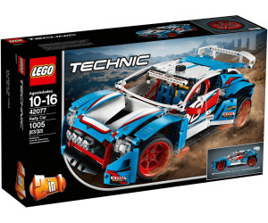 lego technic la voiture de rallye 42077 au meilleur prix sur. Black Bedroom Furniture Sets. Home Design Ideas