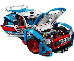 lego technic la voiture de rallye 42077 au meilleur prix sur. Black Bedroom Furniture Sets. Home Design Ideas