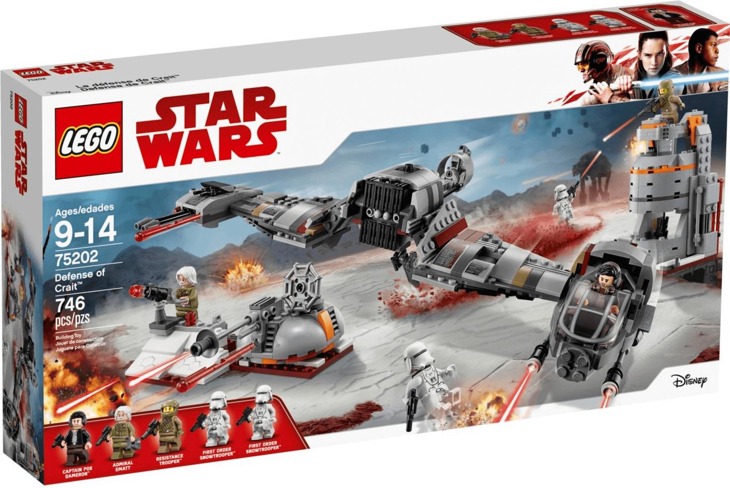 LEGO Star Wars - Défense de Crait (75202)