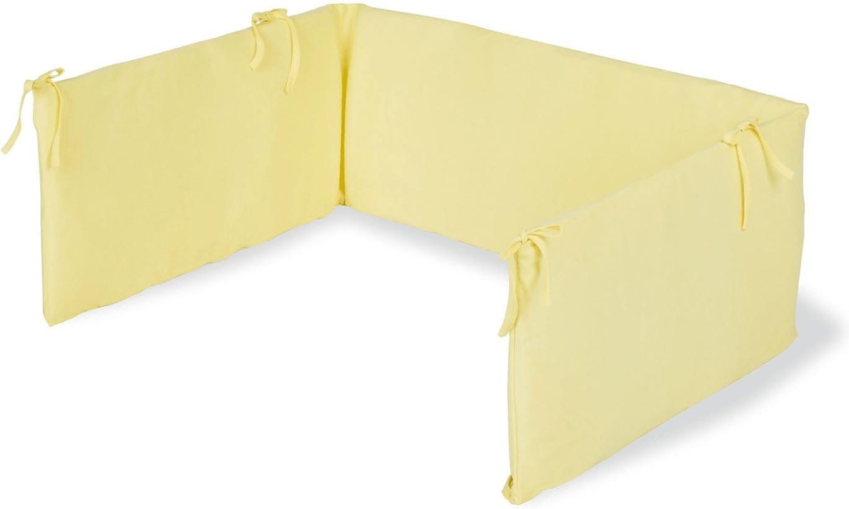 Pinolino Nestchen für Kinderbetten Frottee gelb