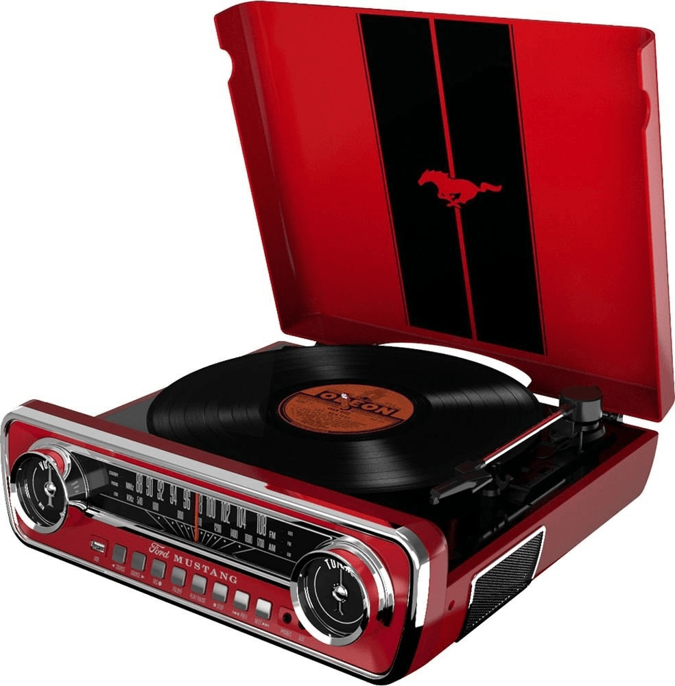 Image of ion Mustang LP red