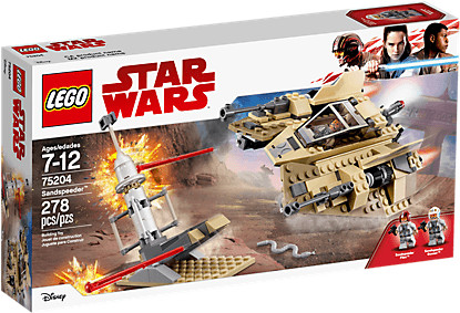 LEGO Star Wars - Sandspeeder (75204)