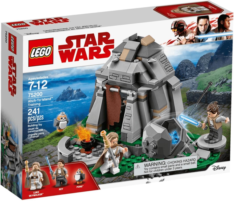 LEGO Star Wars - Ahch-To Island Training (75200)