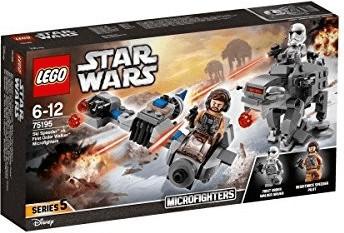 LEGO Star Wars - Microfighter Ski Speeder vs. Quadripode du PremierOrdre (75195)