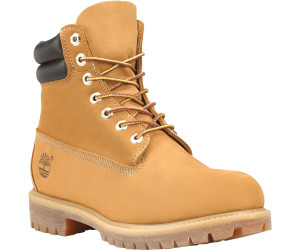 6 Inch Logo Collar Waterproof Boots : Wheat | Timberland