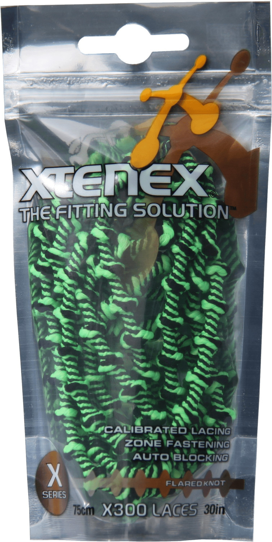 Xtenex Schnürsenkel 75 cm neon grün