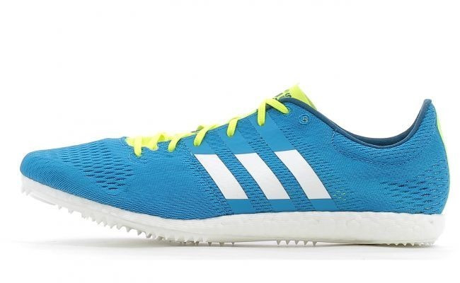 Adidas Hombre Azul Adizero Avanti Correr Zapatillas Clavos Zapatos Deporte