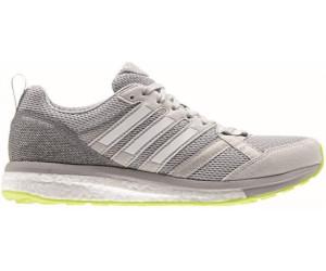 adidas Adizero Tempo 9, Chaussures de Running Entrainement Femme, Gris (Grey One/Footwear White/Grey Two), 38 EU